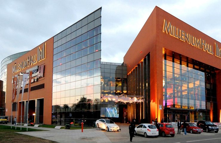 Торговий центр Millenium Hall в Жешуві