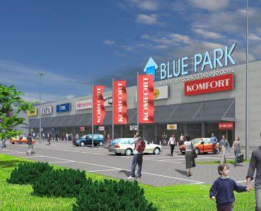 Торговый центр Blue Park в Перемышле