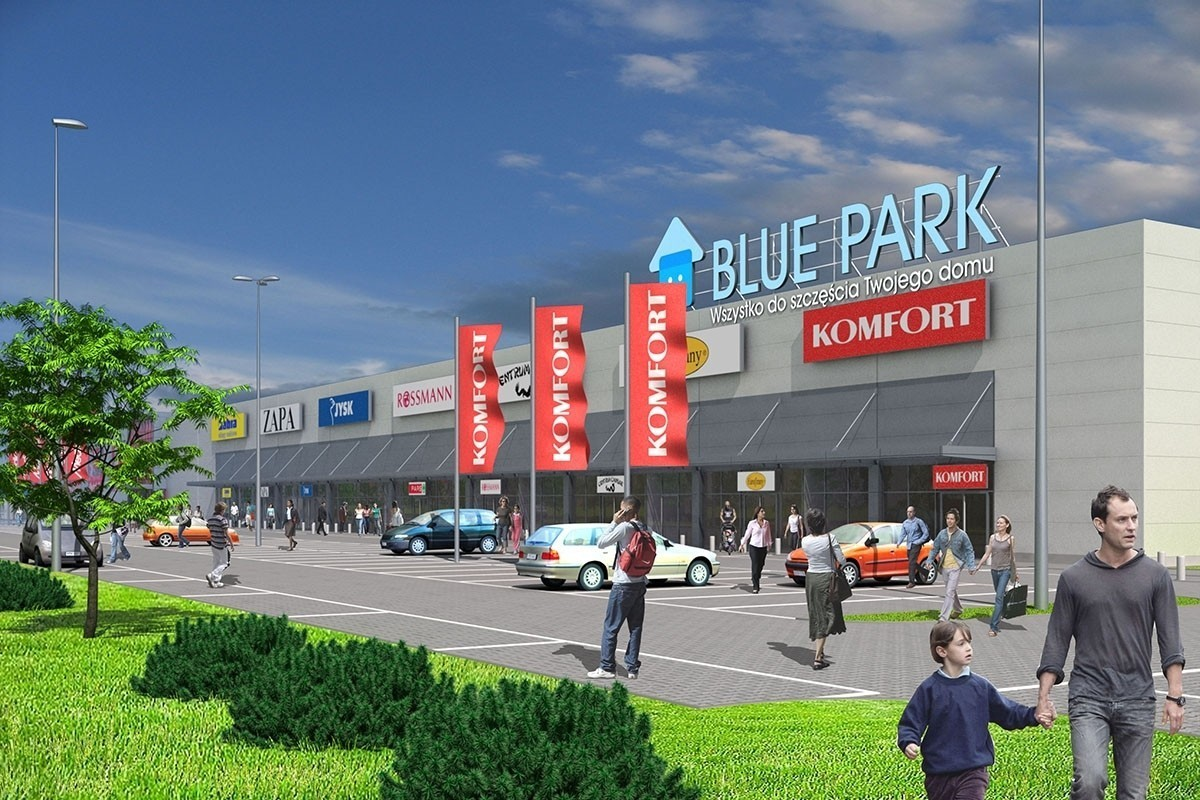 Торговий центр Blue Park в Перемишлі 2557fa0efdbf0