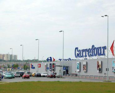 Супермаркет Carrefour в Замостье