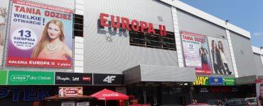 Торговый центр Europa II в Жешуве