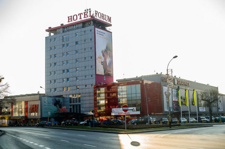 Торговый центр Graffica в Жешуве
