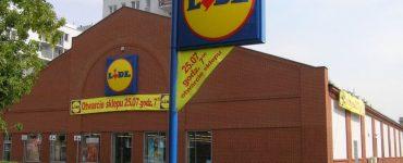 Супермаркет Lidl в Перемышле