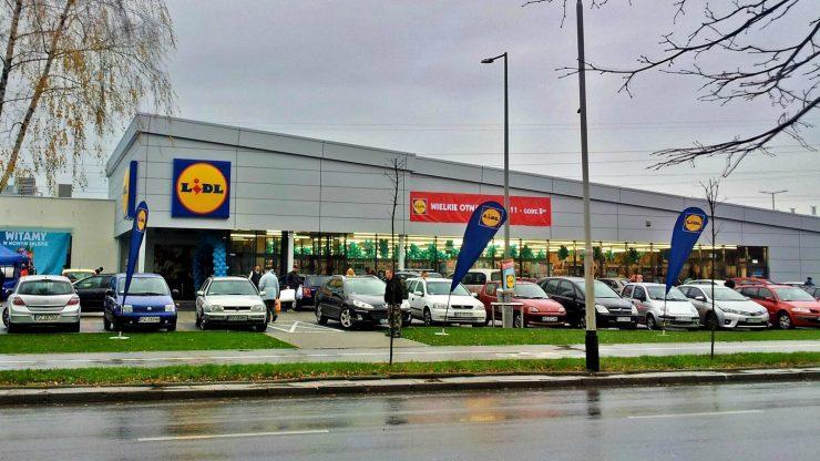 Супермаркет LIDL в Жешуве