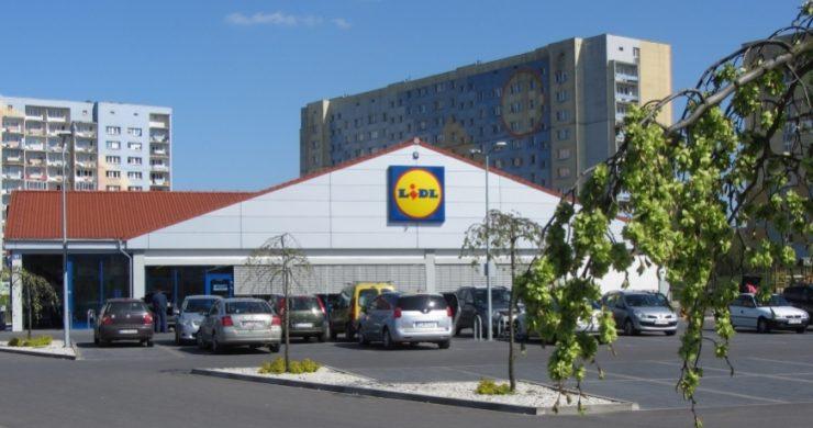 Супермаркет Lidl в Замостье