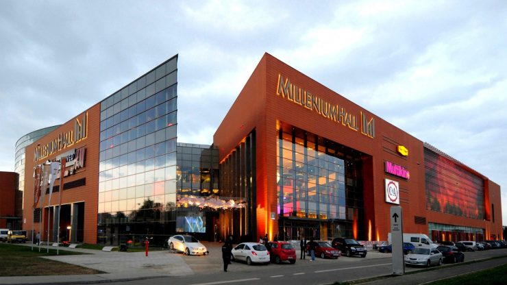 Торговый центр Millenium Hall в Жешуве