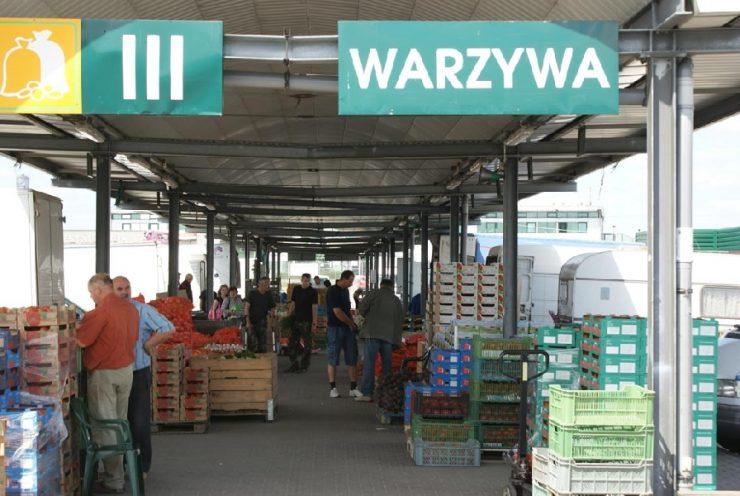 Оптовый рынок Elizówka в Люблине