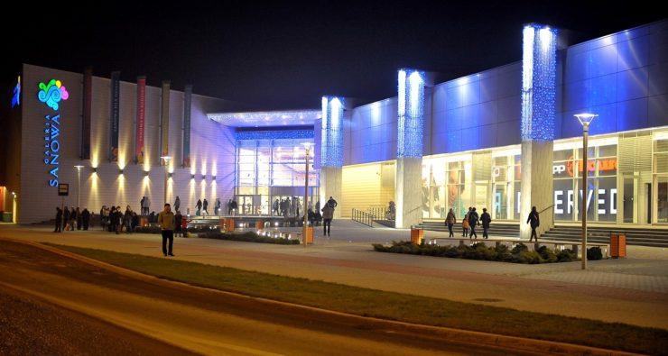 Торговый центр Galeria Sanowa в Перемышле