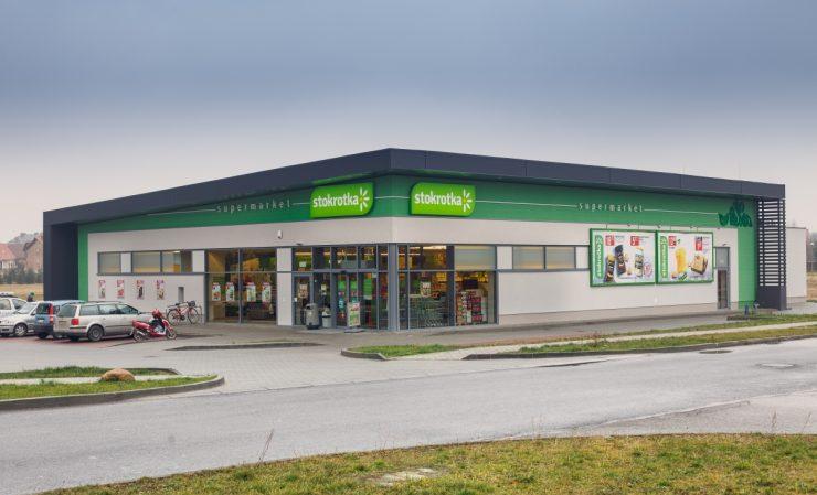 Супермаркет Stokrotka в Жешуве