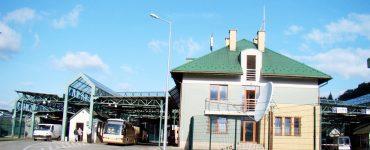 Очереди и камеры в переходе Смильница-Кросценко