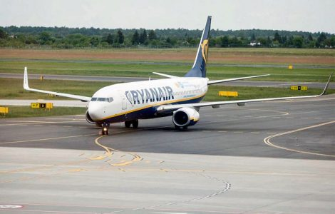 Ryanair планує запустити вісім рейсів з Польщі до України