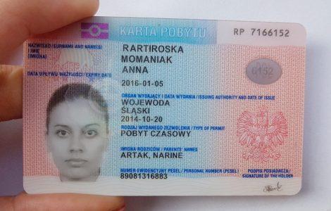 Вид на жительство в Польше: лидируют украинцы
